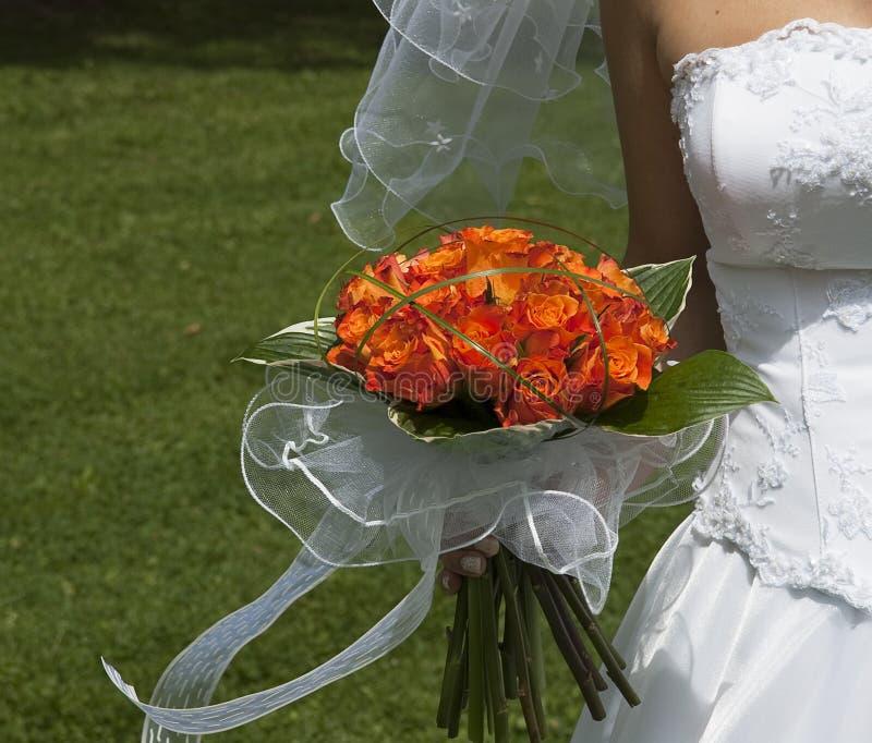 Download Wedding bouquet stock image. Image of bride, orange, bridal - 13745473