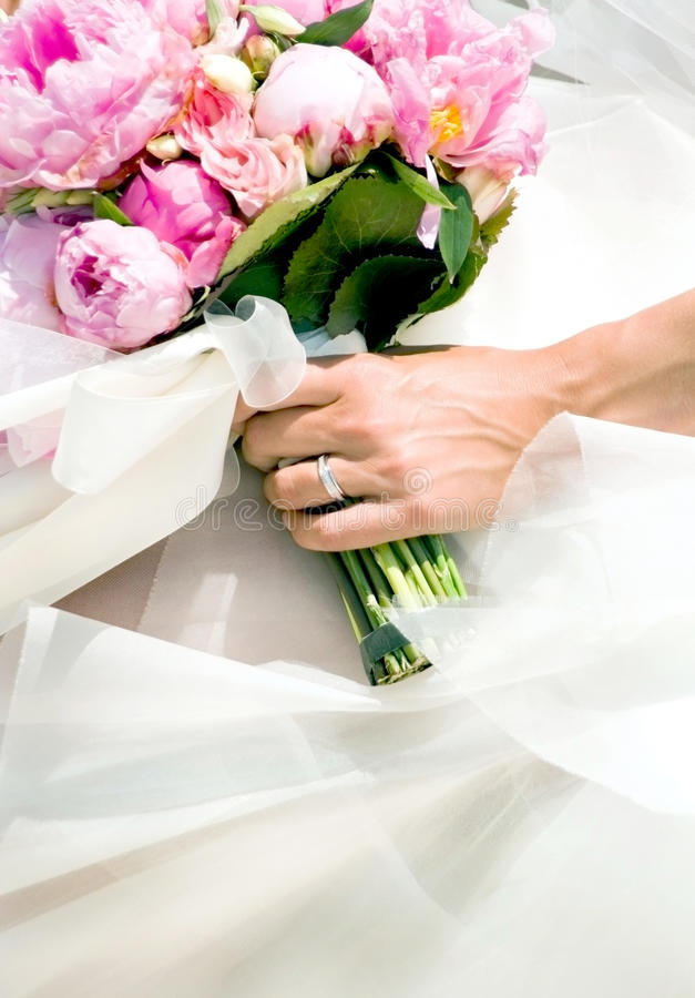 Download Wedding bouquet stock image. Image of woman, lady, hand - 18312513