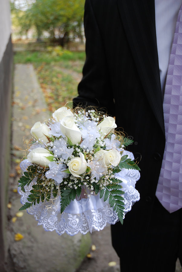 Wedding bouquet 2 stock images