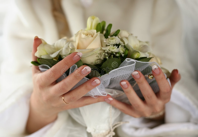 Download Wedding bouquet stock image. Image of people, human, jewelry - 2310037
