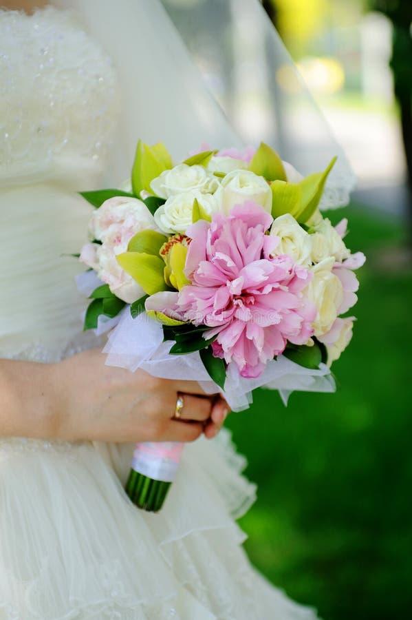 Download Wedding bouquet stock image. Image of sensual, bride - 24466451