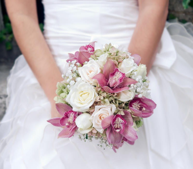 Download Wedding bouquet stock photo. Image of pink, flower, symbol - 27320126