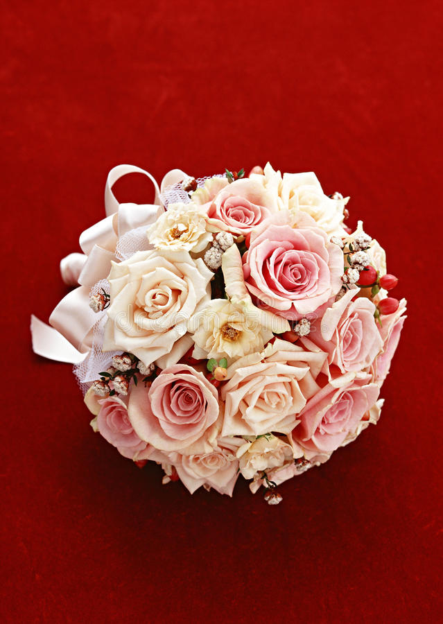 Download Wedding bouquet stock image. Image of white, rose, plant - 28059007