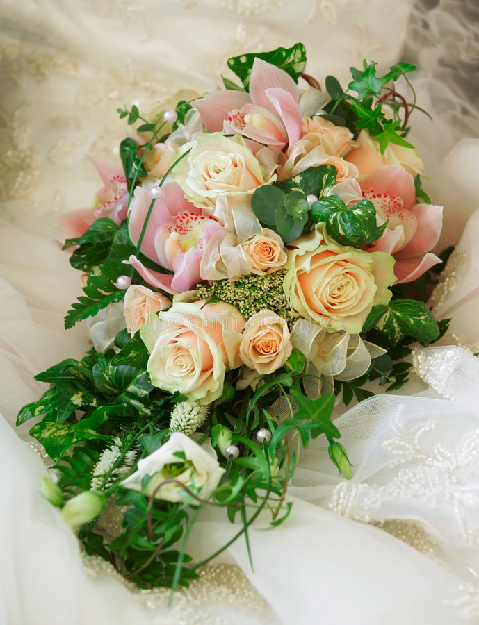 Download Wedding bouquet stock image. Image of spousal, nuptials - 4106037