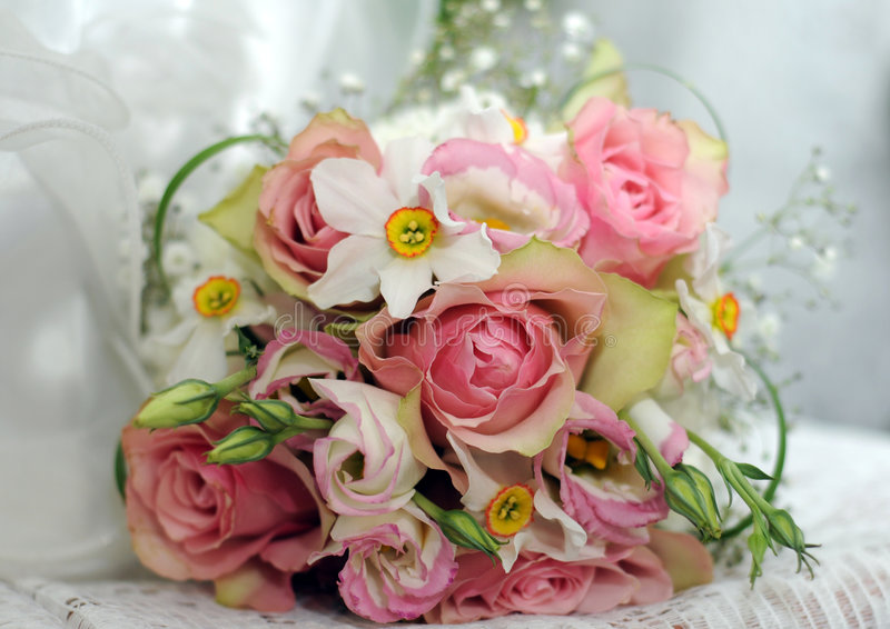 Download Wedding bouquet stock photo. Image of rose, woman, wedding - 8973414