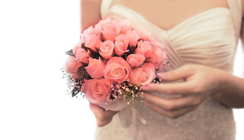 Download Wedding Bouquet In Bride's Hands Stock Photo - Image: 6388304