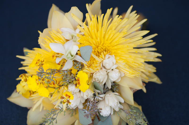 Download Wedding bouquet on a chair stock image. Image of contrast - 28887923