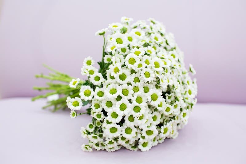Wedding bouquet of chrysanthemum. Beautifil wedding bouquet of chrysanthemum stock photography