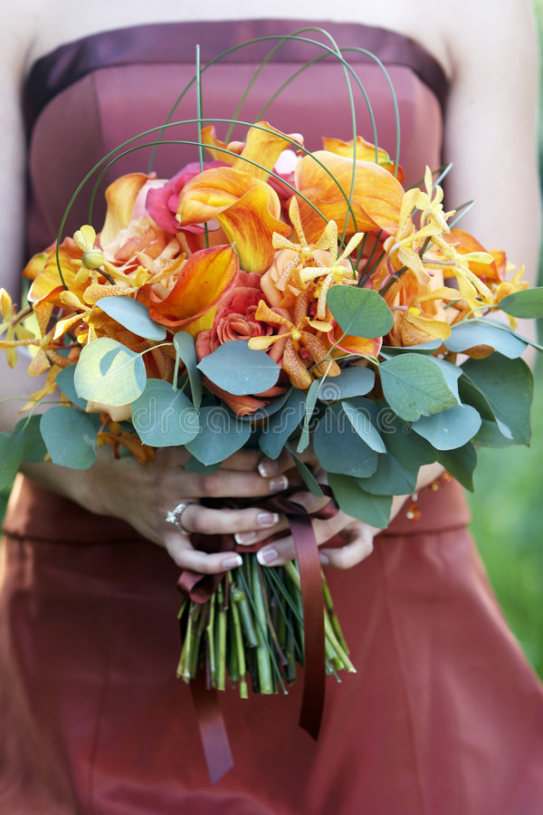 Download Wedding Bouquet Of Flowers Royalty Free Stock Photo - Image: 1610665