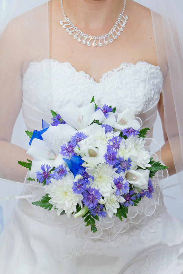 Free Wedding Bouquet In Hands Of The Bride Stock Photo - 26831680