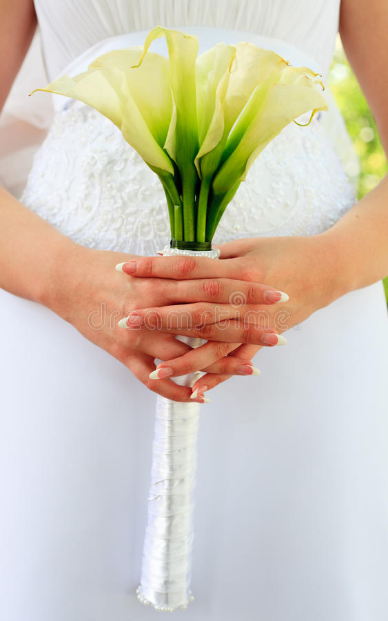Wedding Bouquet From Kallas Stock Image