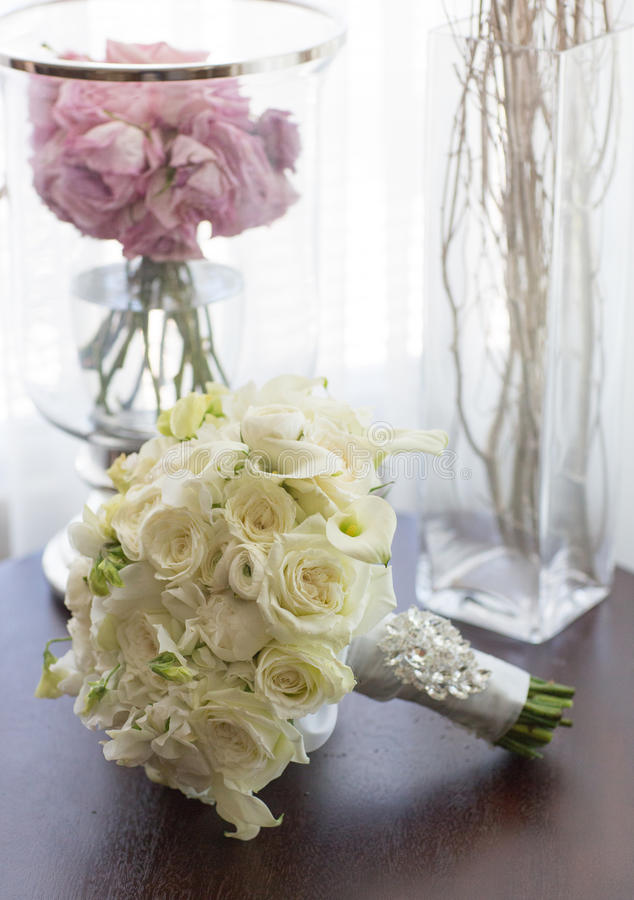 Download Wedding bouquet stock image. Image of rose, bride, engaged - 30644081