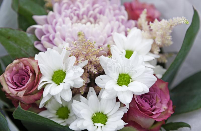 Wedding bouquet for sale in Umea stock photos