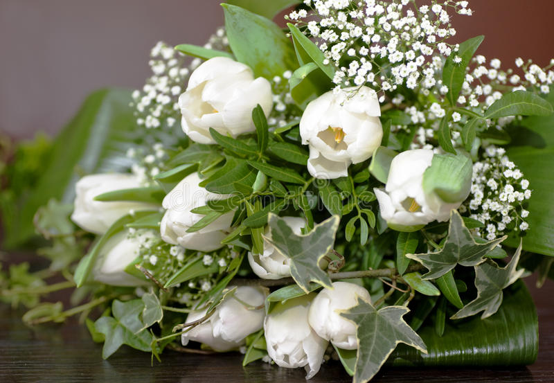 Download Wedding Bouquet With Tulips Stock Image - Image: 22948711