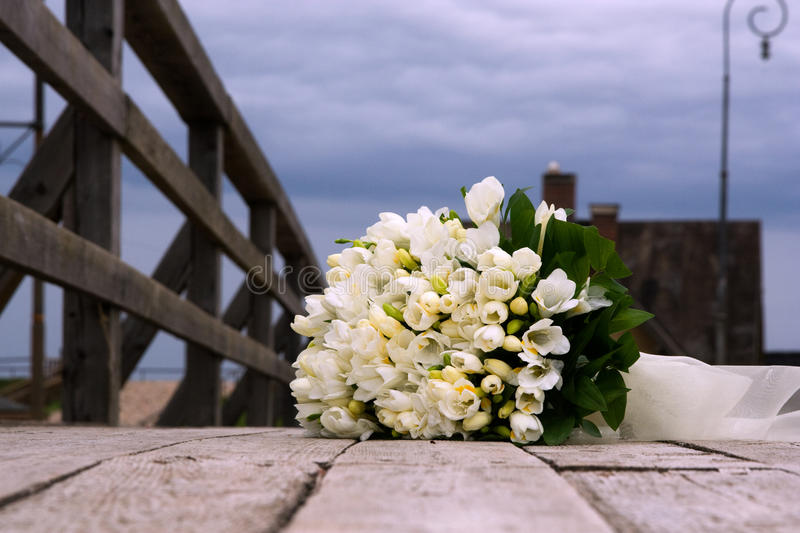 Download Wedding Bouquet From White Flowers Stock Image - Image: 12928193