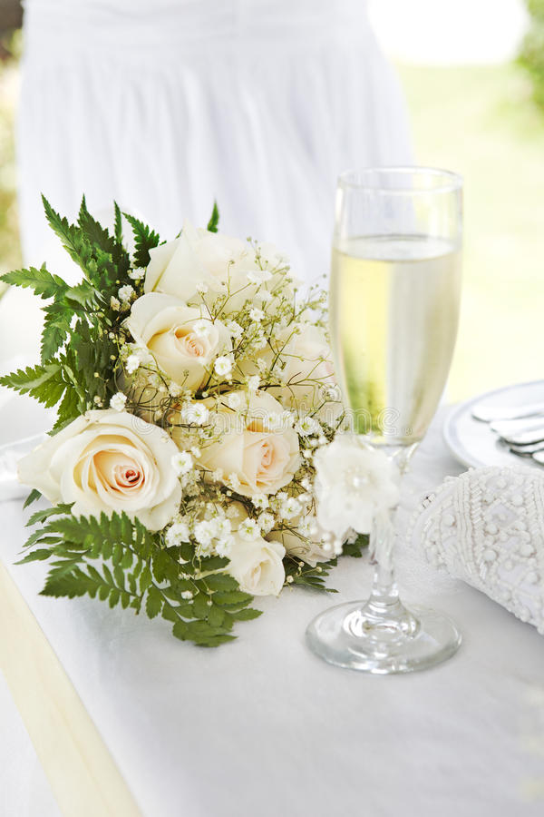 Wedding bouquets stock photo