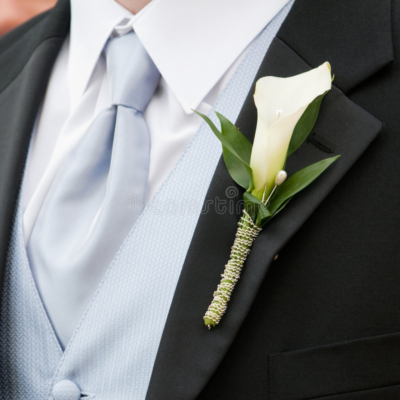 Free Wedding Boutonniere Royalty Free Stock Photos - 7162848