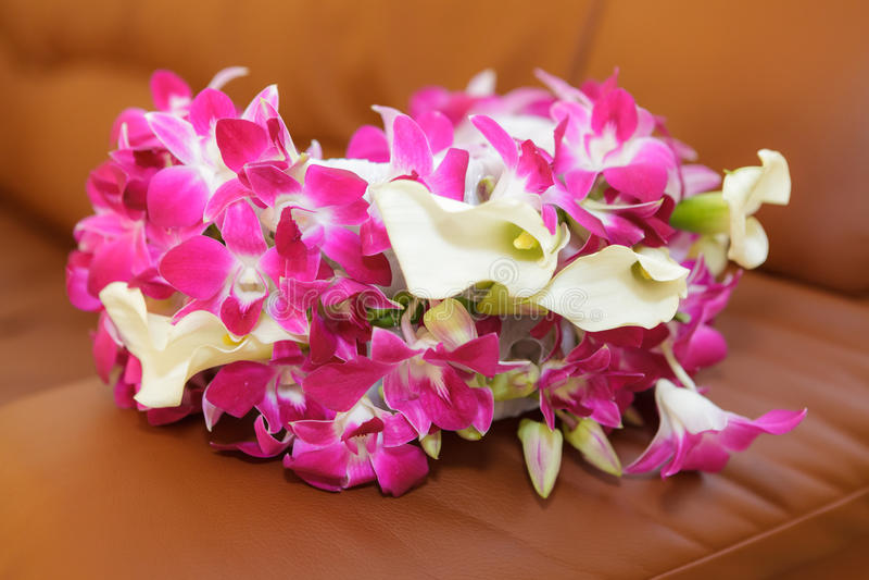 Wedding Bridal bouquet stock images