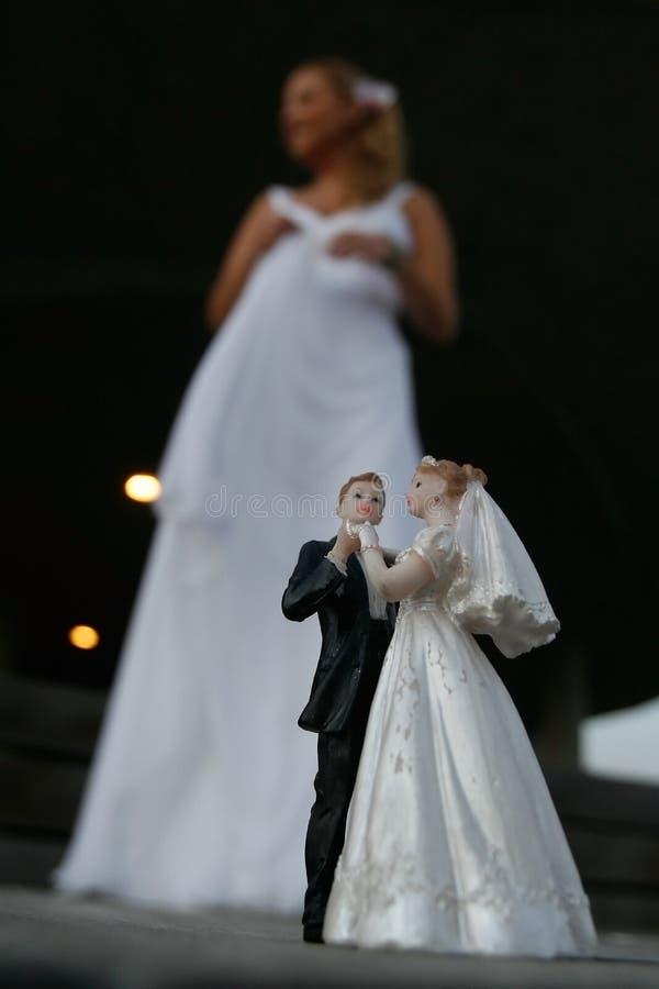 Wedding - Bride royalty free stock image