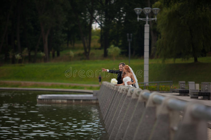 Wedding, bride and groom, love royalty free stock photography