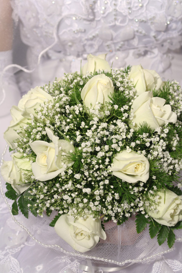 Wedding bunch of flowers royalty free stock images