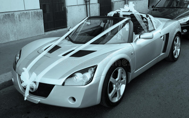 Download Wedding Cabriolet Royalty Free Stock Images - Image: 27950049