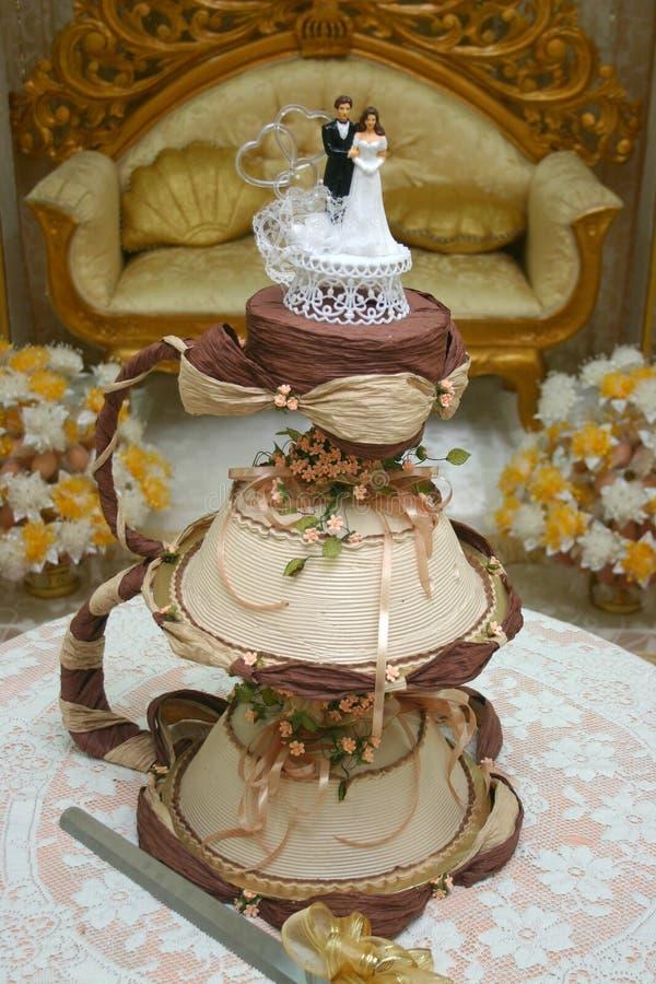 Download Wedding Cake stock photo. Image of cake, groom, bride - 1404400