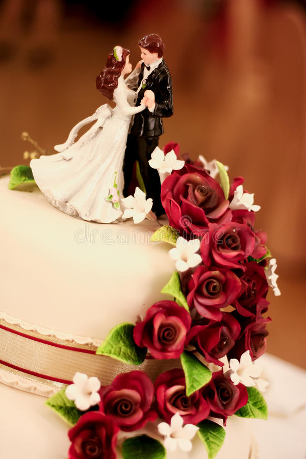 Wedding Cake 2 stock images