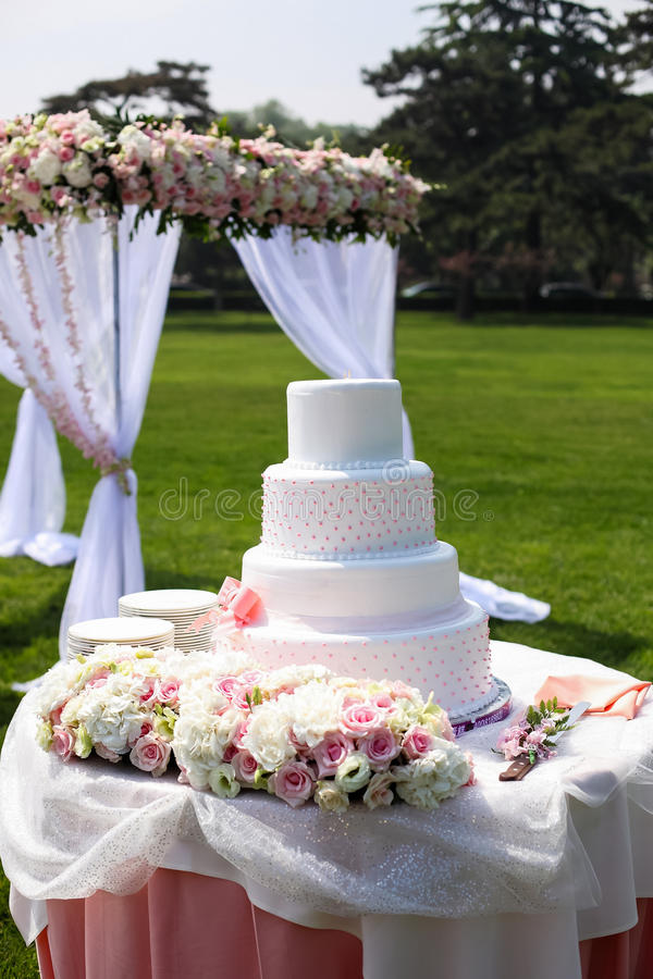 Download Wedding Cake stock photo. Image of decoration, flora - 29098026