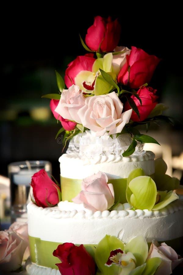 Download Wedding cake stock image. Image of cake, ribbon, marriage - 4544697