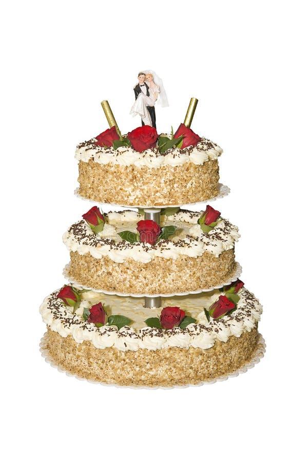 Download Wedding cake stock photo. Image of food, restaurant, couple - 6520048