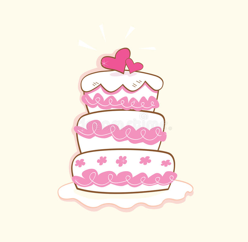 Free Wedding Cake Royalty Free Stock Image - 9444846