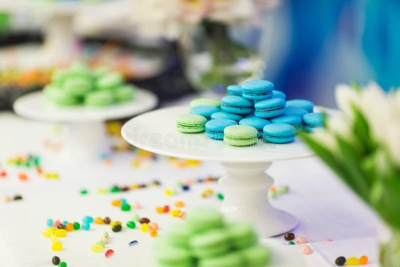 Wedding cake. Beautiful wedding cakes at wedding royalty free stock photo