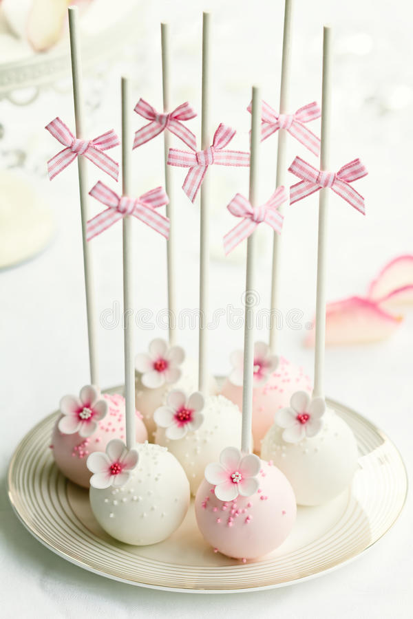 Wedding cake pops. Cake pops for a wedding
