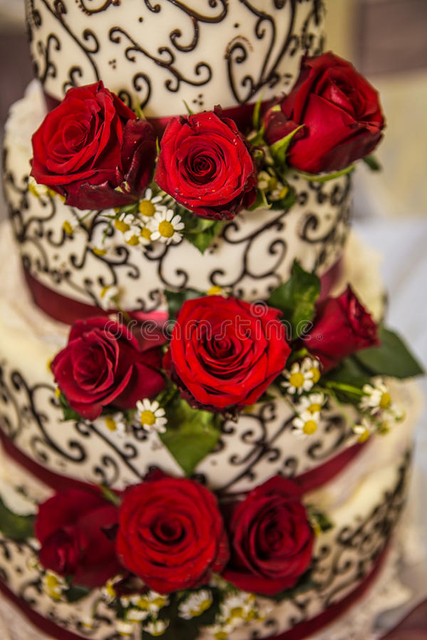 Download Wedding cake stock photo. Image of marry, cake, delicious - 33035048