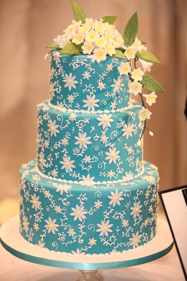 Wedding cakes. The most creative wedding cakes and designs for a sweet and unique dessert on a wedding table stock images