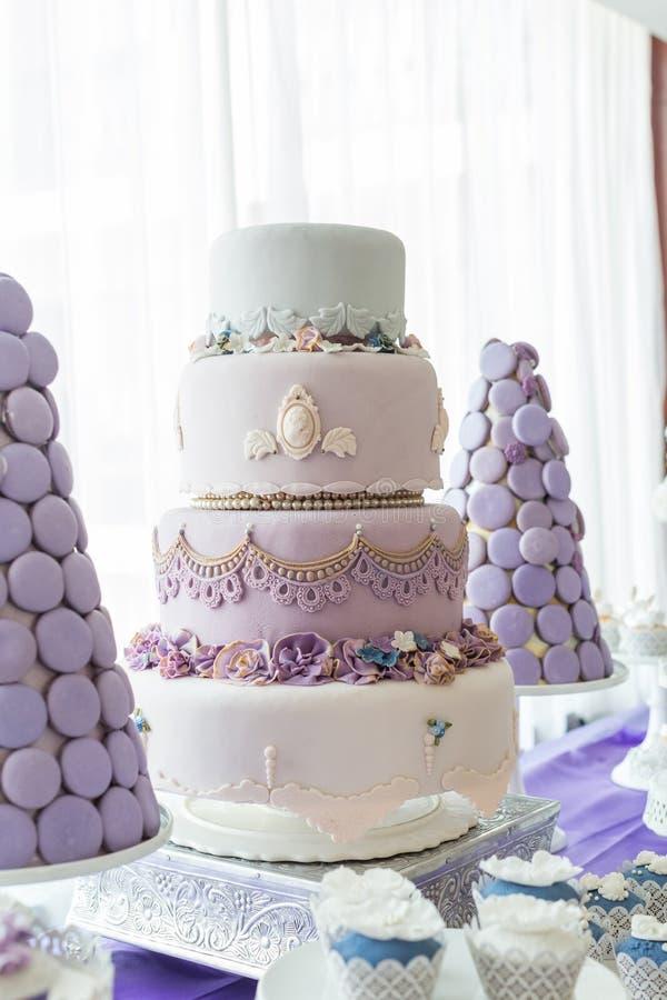 Wedding cakes stock photography