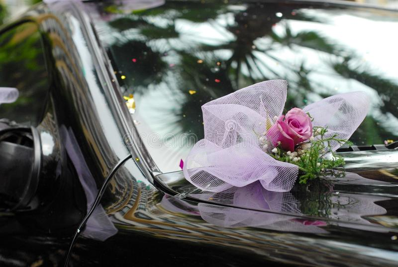 Wedding Car stock image