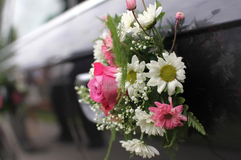 Download Wedding car stock photo. Image of marital, brides, rose - 9884820