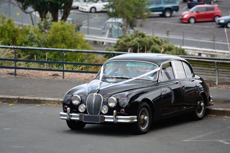 A wedding car royalty free stock photography