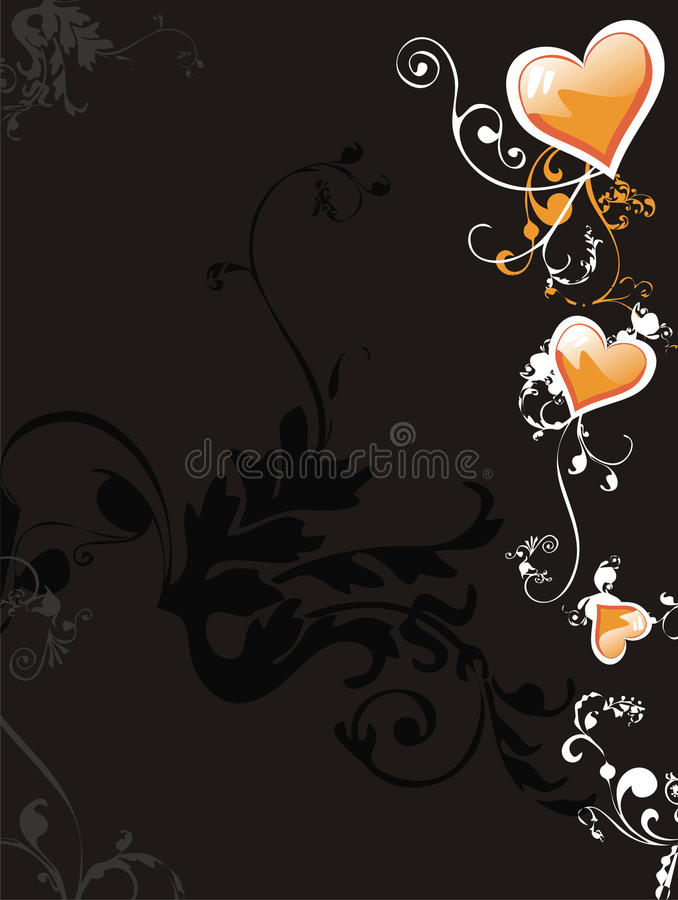 Download Wedding card stock vector. Image of beautiful, abstract - 11126383