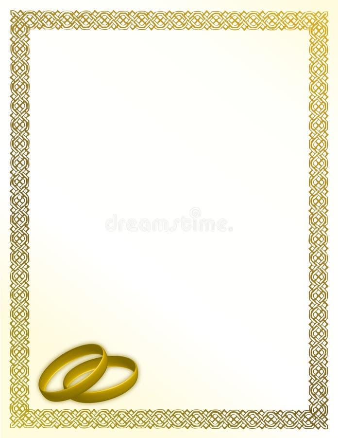 Download Wedding card stock vector. Illustration of ceremony, decoration - 15241935