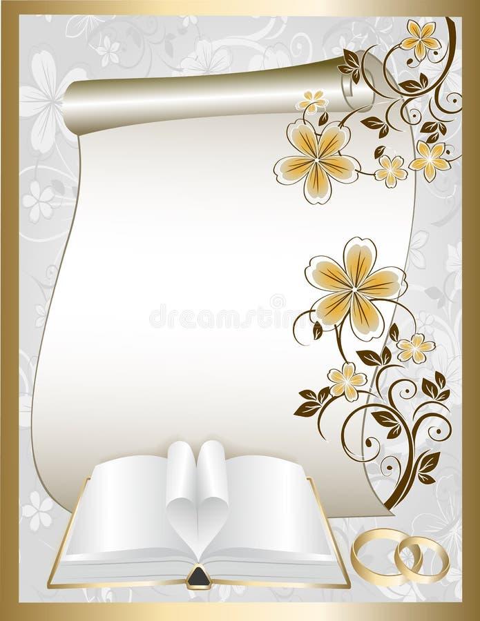 Download Wedding card stock vector. Illustration of decoration - 30086208