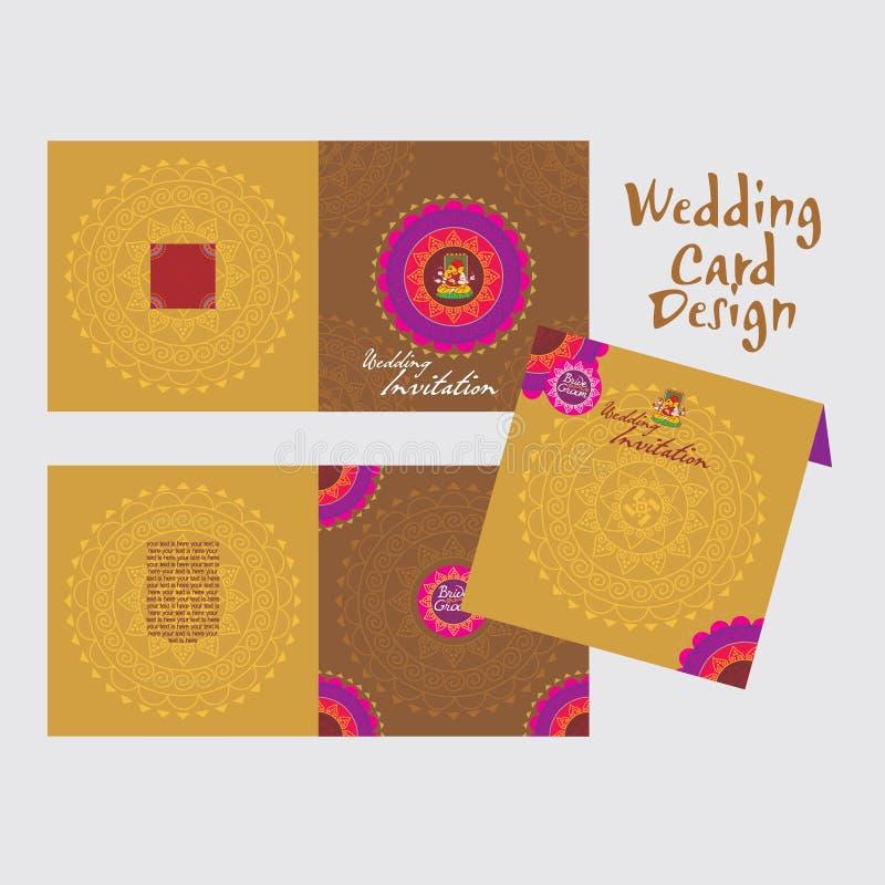 Wedding Card Stock Vector Illustration Of Banner Hindu