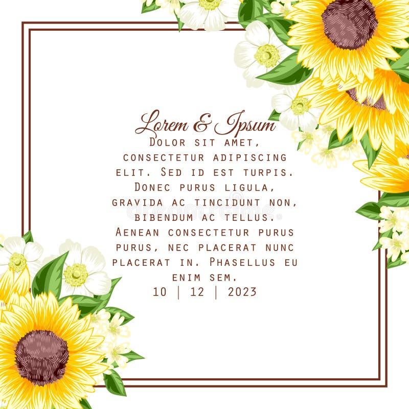 Download Wedding card stock illustration. Illustration of advertising - 38333975