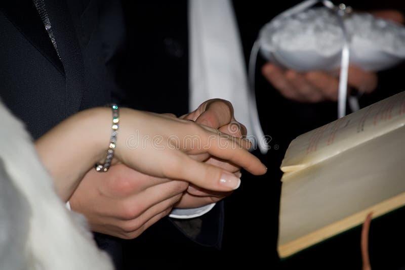 Wedding caremony photographie stock libre de droits