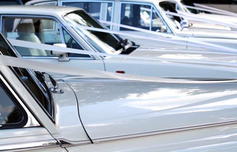 Download Wedding cars stock photo. Image of vehicle, photograph - 3478290