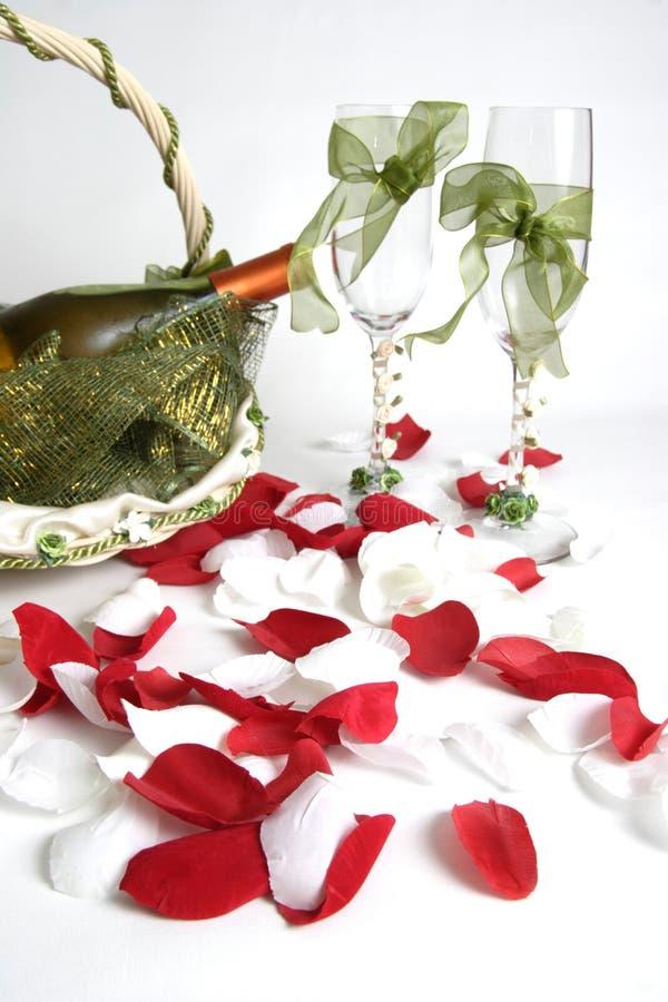 Wedding - celebration of love. Wedding accessories royalty free stock image