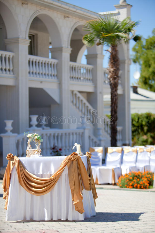 Download Wedding ceremony stock image. Image of shore, decorate - 26531977