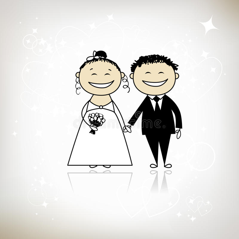 Wedding ceremony - bride and groom together